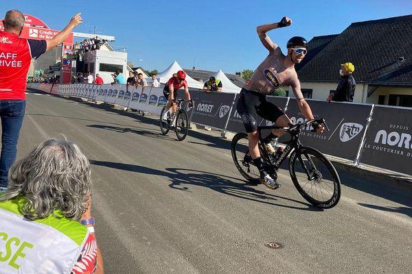 Elmar Reinders, vainqueur de la quatrième étape du Tour de Bretagne