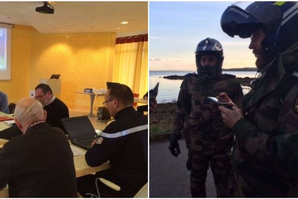 Depuis le 12 décembre, un exercice national de sécurité sur le nucléaire a lieu sur la base de l'Île Longue
