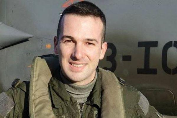 Le capitaine Baptiste Chirié sera inhumé à Billere - Photo Armée de l'Air