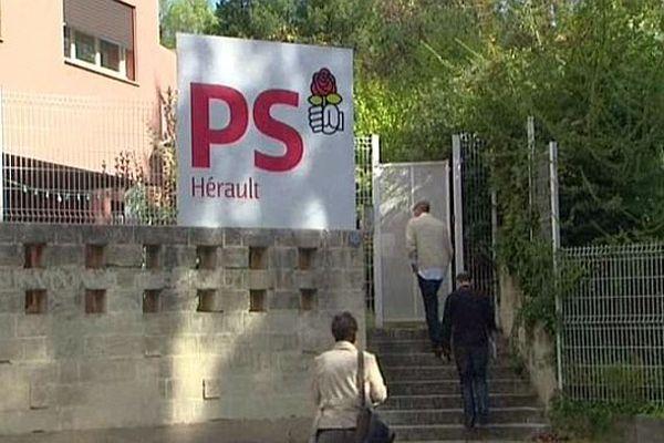 Montpellier - le siège de la fédération PS de l'Hérault - septembre 2013.