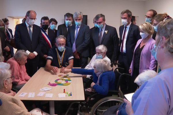 Les résidents d'un Ehpad d'Autun ont reçu la visite du Premier ministre, ce jeudi.