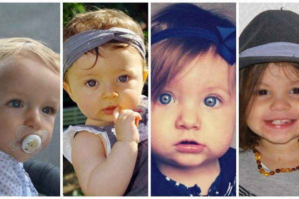 Antoine, Roxane, Léa et Loëlya, les quatre bébés girondins en lice pour être le Bébé Cadum de l'année