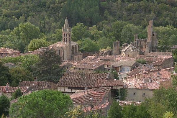 Alet-les-Bains (Aude) - le village - 2020.