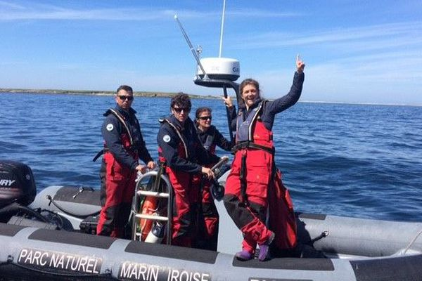 Marine et les guides environnementaux du Parc Naturel marin d'Iroise font un bilan de leurs missions