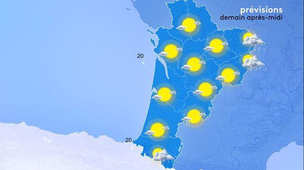 Les éclaircies se généraliseront en début d'après-midi, apportant un temps sec et lumineux.