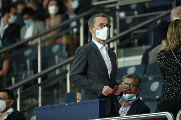 Le jeune homme était jugé pour des menaces de mort proférées sur Twitter à l'encontre le président de l'Olympique de Marseille, Jacques-Henri Eyraud.