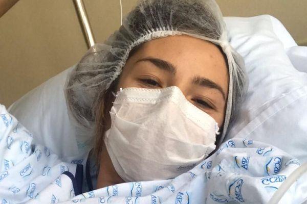 Charlotte Lopes-Eymaron a été plus forte que le coronavirus.