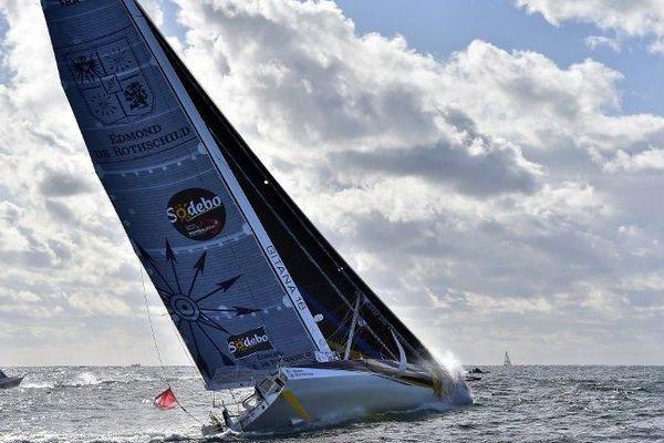 Sébastien Josse occupe ce soir la 4ème position du Vendée Globe. (image d'archive)