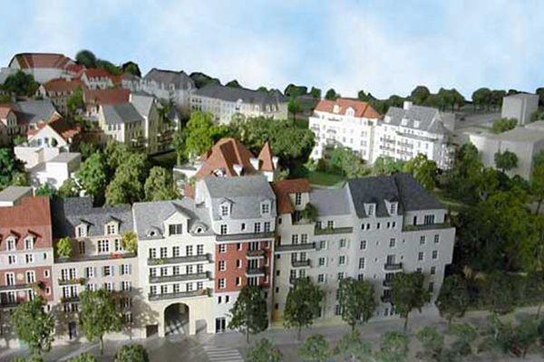 La cité jardin de Plessis-Robinson, un projet de l'architecte Xavier Bohl