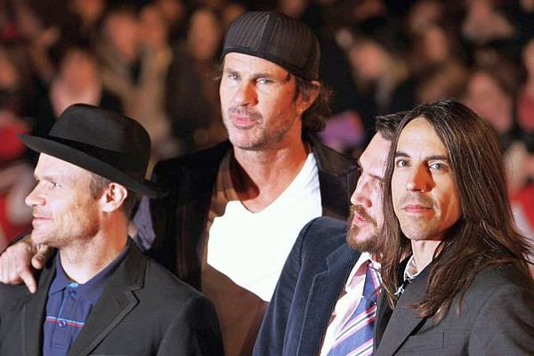 Le groupe RED HOT CHILI PEPPERS - archives