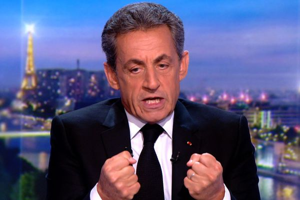 Nicolas Sarkozy, hier soir sur TF1 pour présenter sa ligne de défense.