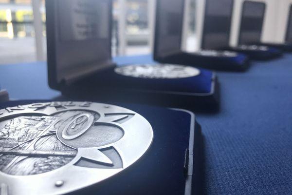 Médailles de la ville de Grenoble