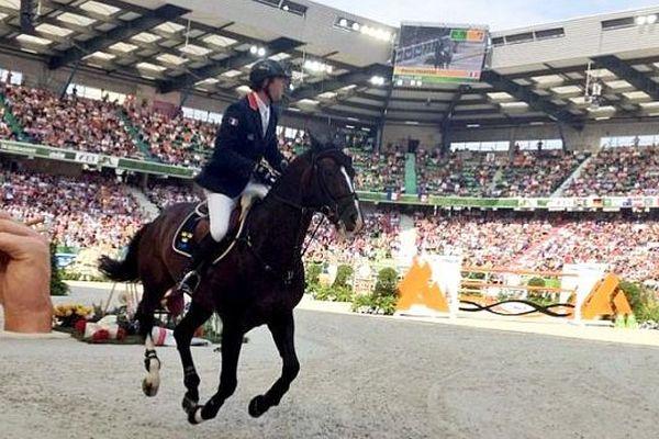 Patrice Delaveau, cavalier français de CSO, JEM 2014, finale à 4