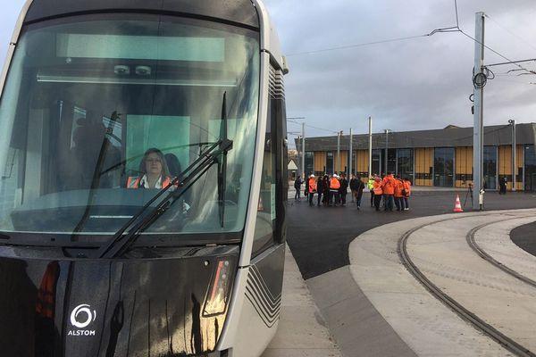 Les essais du nouveau tramway de Caen débutent ce lundi 3 décembre