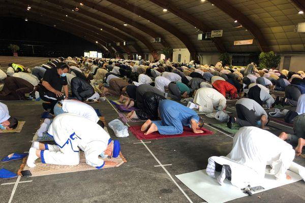 Le parc des expositions de la Rochelle accueille la prière de l'Aïd el Kébir