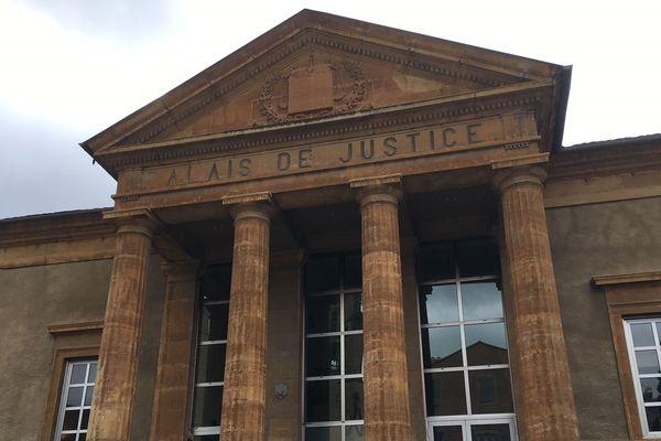 Mende - le palais de justice - archives.