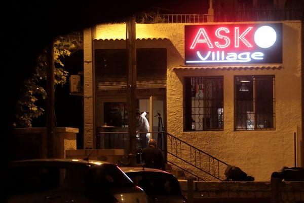 Les tirs ont eu lieu dans le local d'une association sportive à l'Estaque.