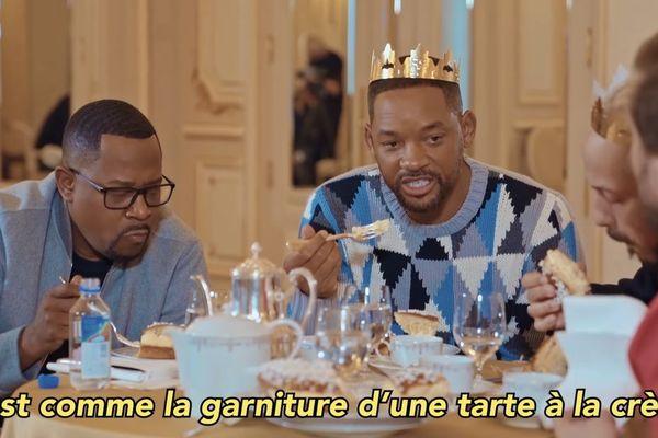 Will Smith a dégusté la galette dunkerquoise avec Mc Fly et Carlito