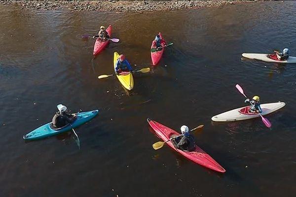 Canoës-kayaks sur la Vienne