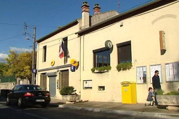 Saint-Bauzille-de-Putois (Hérault) - la mairie - octobre 2016.