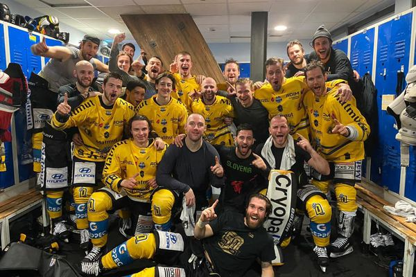 Malgré la défaite face aux Rapaces de Gap, les Dragons de Rouen sont champions de France !