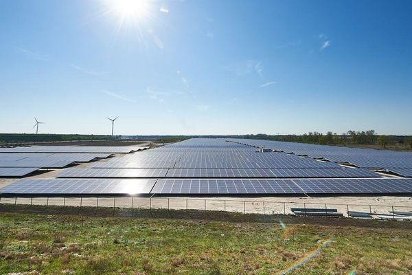 Kristal Solar Park à Lommel (Belgique)