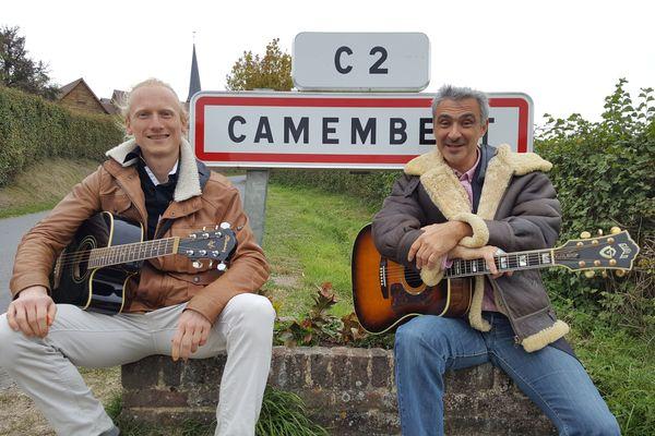 Ils ont écrit l'hymne de Camembert