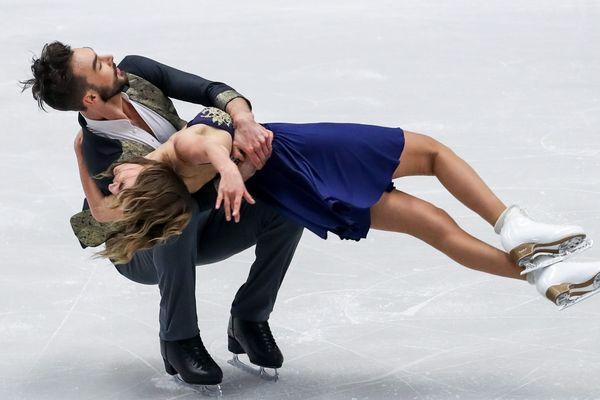 Gabriella Papadakis et Guillaume Cizeron prennent la troisième place à l'issue du programme court des championnats d'Europe de danse sur glace