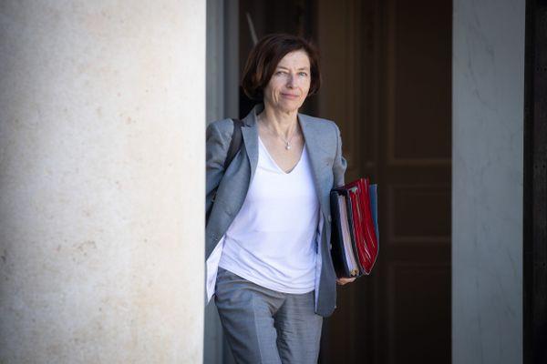 Florence Parly à la sortie du conseil des ministres le 24 juin 2020.
