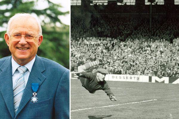 Arnold Sowinski en 2006 et en 1954