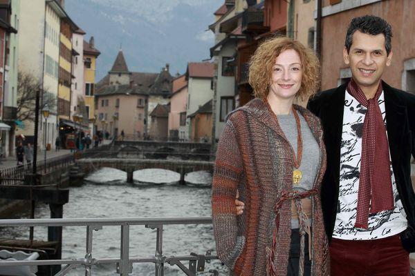 Florence Cassez et son mari.