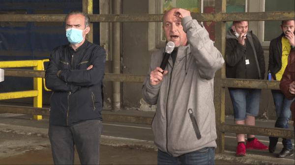Porte-parole des salariés de la Fonderie de Bretagne, Maël Le Goff sait le poids du collectif