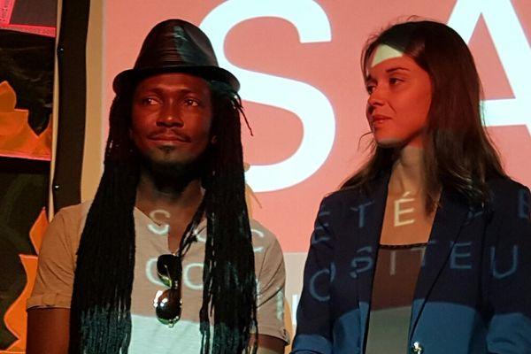 Edouard Elvis Bvouma et Céline Delbecq sont les deux lauréats du Prix SACD de la Dramaturgie Francophone