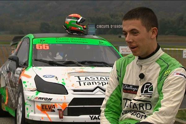 A 21 ans, Firmin Cadeddu a remporté le championnat de France de Rallycross. Le pilote Issoirien rêve maintenant d'Europe.