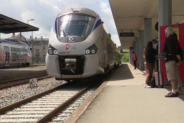 La signe entre Angoulême et Saintes reprend après six mois de travaux