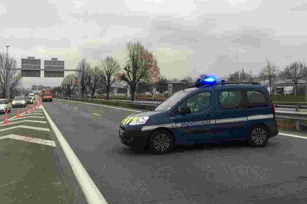 A Chambéry, une déviation a été mise en place pour éviter que les gilets jaunes ne bloquent l'accès à l'aéroport.