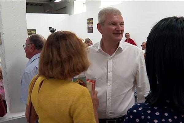 Olivier Falorni a lancé sa campagne pour les municipales avec une première réunion publique.