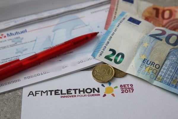 La Haute-Loire a été le département le plus mobilisé pour le Téléthon en 2017, avec une moyenne de 2.26€ de don par habitant.