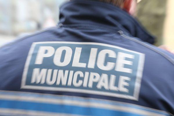 Un policier municipal de Belfort (image d'illustration).