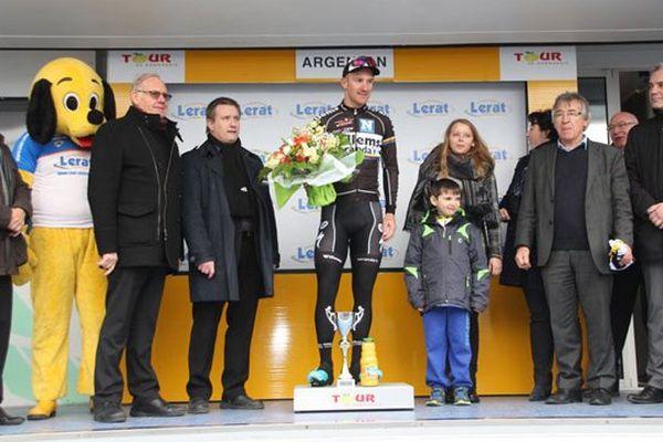 Le Belge Timothy Dupont a remporté sa seconde étape du Tour de Normandie ce jeudi