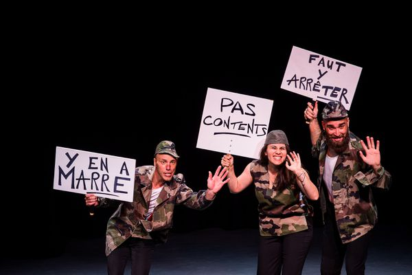 """Le trio """"Crétins des Alpes"""""""