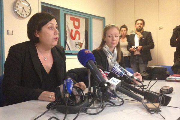 Pernelle Richardot, la tête de liste du PS dans le Bas-Rhin, est en colère