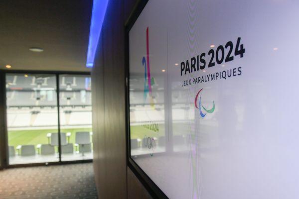 Un logo Paris 2024.