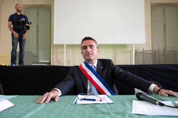 Stéphane Ravier a été élu maire du 7e secteur de Marseille en 2014.
