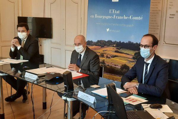 Les autorités ont tenu une conférence de presse ce vendredi 27 novembre pour faire un point sur l'épidémie de Covid-19 dans la région.