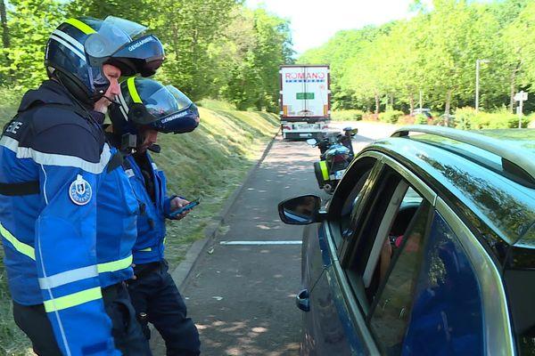 La jeune femme a été contrôlée à 164 km/h au lieu de 110