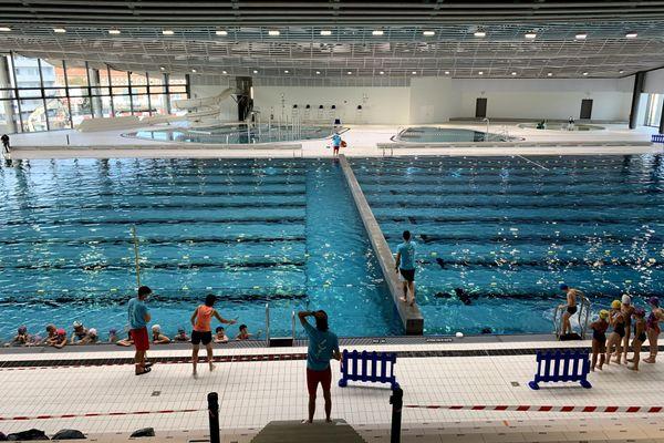 Le complexe aqualudique de Reims ouvert aux scolaires.