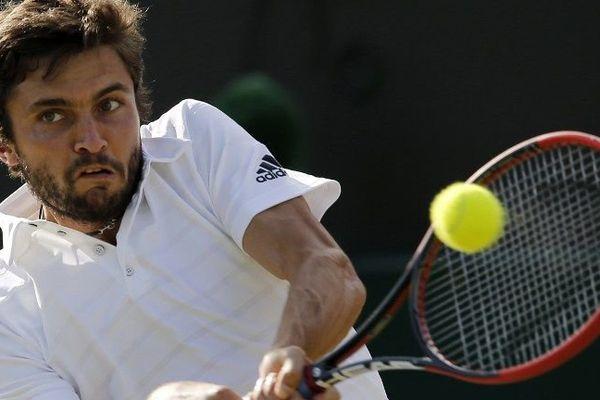 A 30 ans, Simon n'avait disputé qu'un seul en Grand Chelem: en 2009 en Australie où il avait été battu par Rafael Nadal