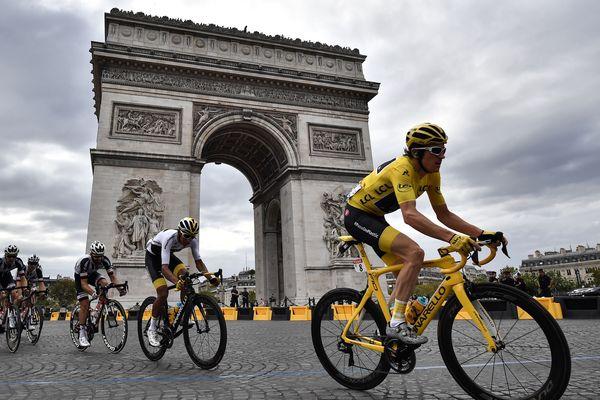 Le Britannique Geraint Thomas vainqueur du Tour de France 2018.