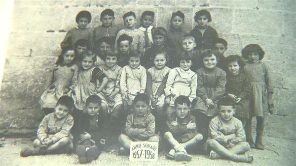 Photo de classe d'Alain Giresse à Langoiran